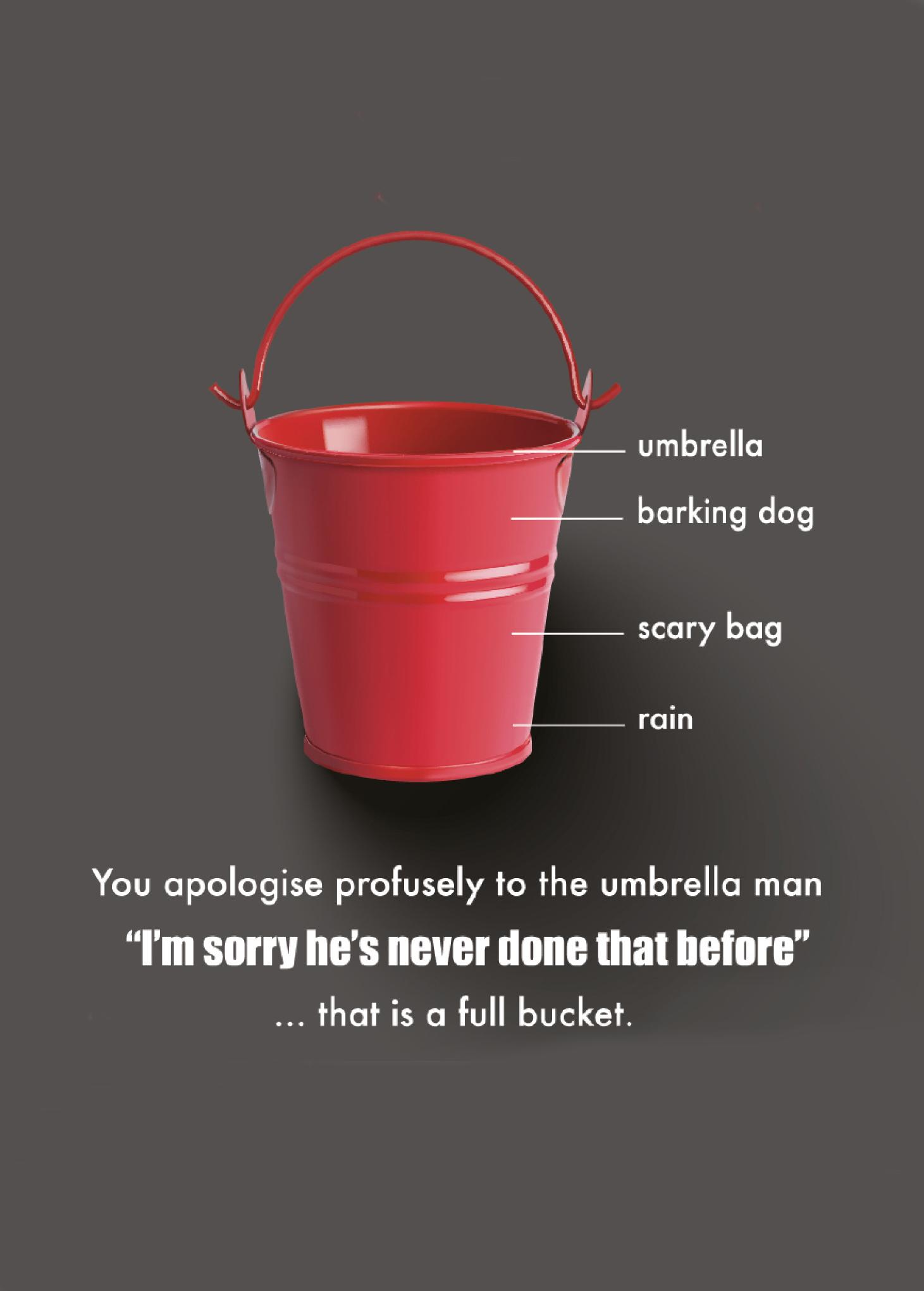 A full bucket